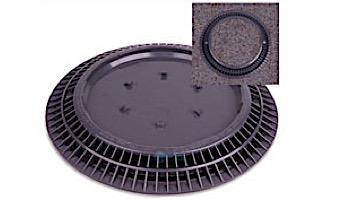"Color Match 10"" Round VGB Pebble Top Drain Cover   Dark Gray   10-PTD-105A"