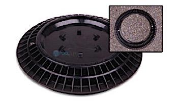 "Color Match 8"" Round VGB Pebble Top Drain Cover   Black   8-PTD-102A"