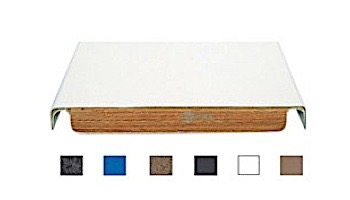 SR Smith 10 ft Frontier III Commercial Diving Board Radiant White Matching Tread   66-209-610S2