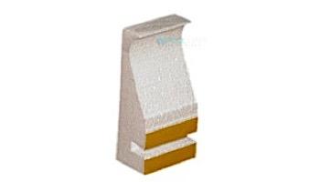 Stegmeier 8' Capstone Form White with Tie | 14 per Case | 9CF112
