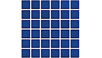 National Pool Tile Unglazed 1x1 Series   Sapphire Sky   0R0811GMS1P