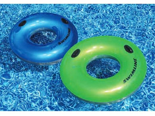 Waterpark Style 36inch Transparent Tube with Handles   90192