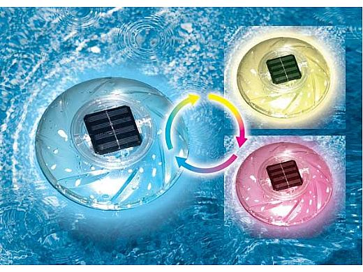 SwimLine Hydrotools Rainbow Floating Solar Light | 85107