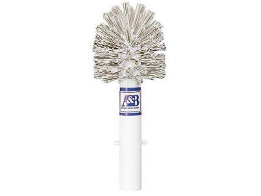 A&B Brush Combination Stainless Steel & Nylon Bristles Corner Brush   6510