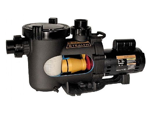 Jandy Stealth High Pressure Up Rate Two Speed Pool Pump