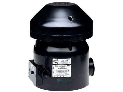 Air Supply Galaxy Blower   2HP 240V 5.5 AMPS   6520201 6518220F 6520231