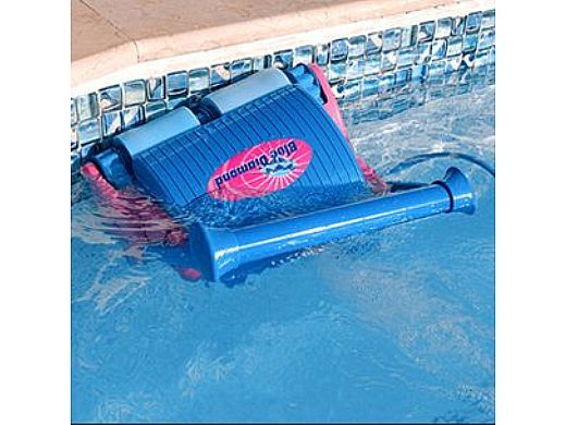 Water Tech Blue Diamond Robotic Pool Cleaner | Complete with 60ft Cable & Caddy | BLD03 71000RR