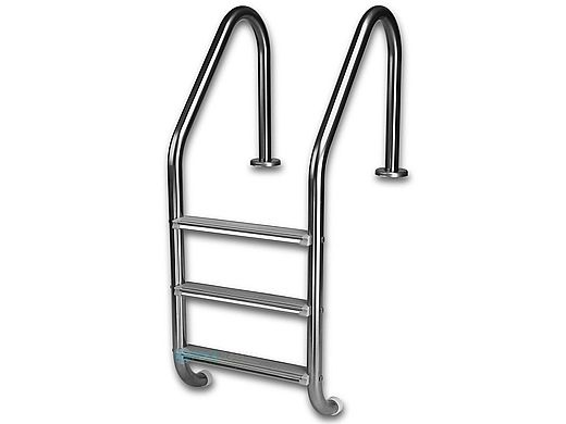 """InterFab 3-Step Economy Lader With High Impact Plastic Treads 