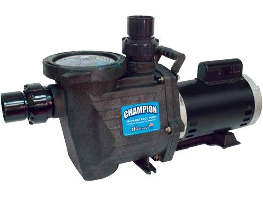 Waterway Champion 56-Frame .75HP Energy Efficient Full Rated Pool Pump 115/230V   CHAMPE-107