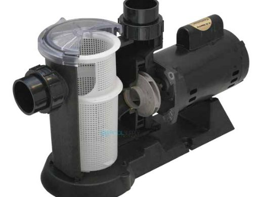 Waterway SVL56 High Flow 56-Frame 1HP Energy Efficient Full Rated Pool Pump 115/230V | SVL56E-110