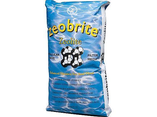 Zeotech Zeobrite Sand Filter Media   50lb Bag