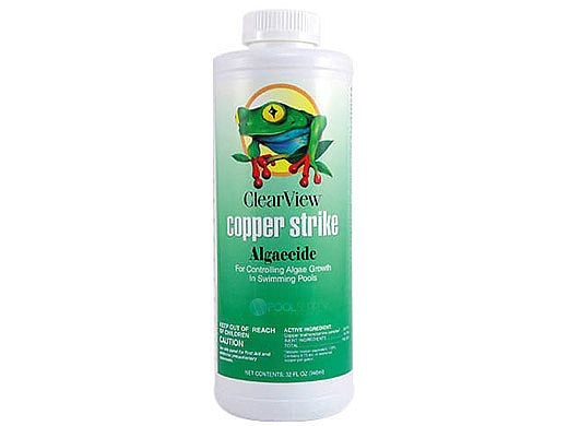 ClearView Copper Strike Algaecide | 32 oz | CVLCSQT12