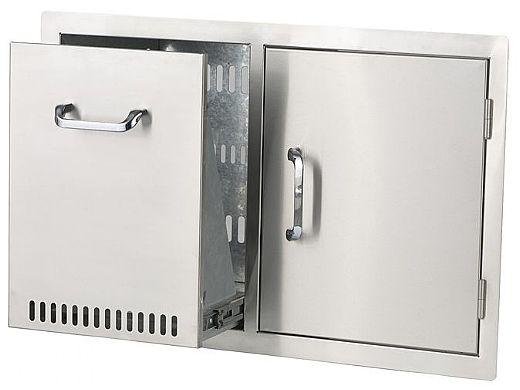 Bull Outdoor Products Propane Drawer/Single Door Combo | 65784