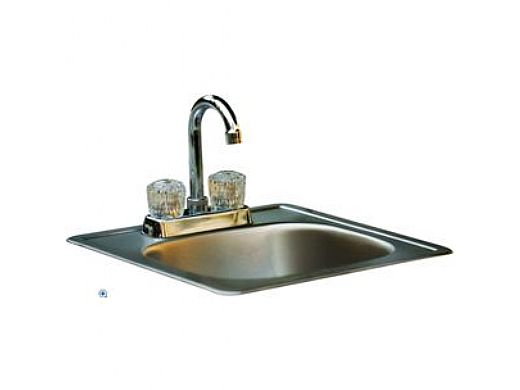 Bull BBQ Sink with Faucet Standard Stainless Steel | 12389