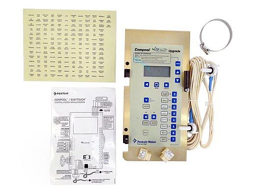 Pentair Compool to EasyTouch Pool & Spa 8-Function Upgrade Kit | 521107