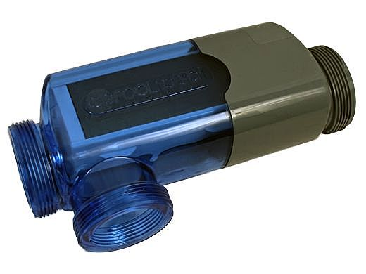 CompuPool 3-Port Salt Cell for AquaPure | 7-Blade Cell Kit | 12,000 Gallons | GRC/J12-3