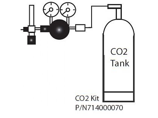 Pentair IntelliChem Chemical Controller CO2 Kit with Diffuser, Solenoid, Regulator | 714000070