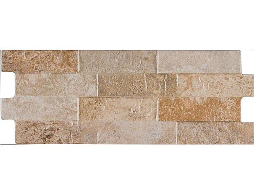 National Pool Tile Sim. Stackstone 6x16 Tile   Classic Beige   SST-CLASSIC
