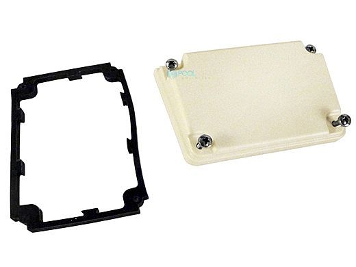Pentair Junction Box Cover with Screws and Gasket | Almond | 350621