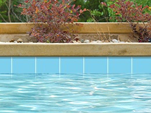 National Pool Tile 6x6 Solids Series | Glossy Light Blue | M6761PG