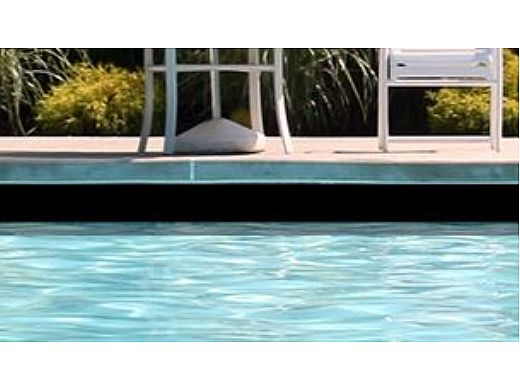 National Pool Tile 6x6 Solids Series   Glossy Black   M6765PG