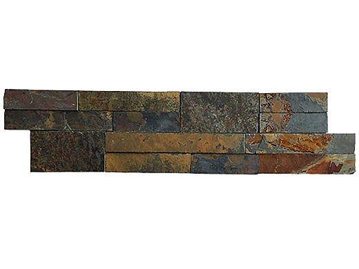 National Pool Tile Natural Ledgerstone 6x24 | Slate | 130112
