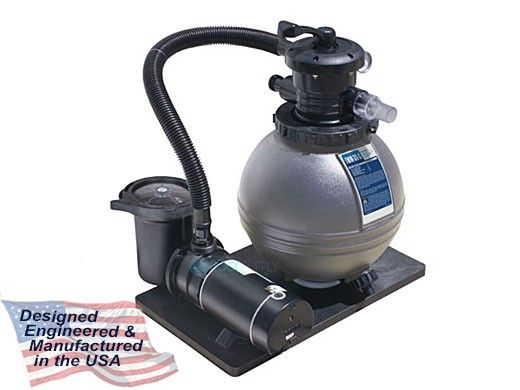 """Waterway TWM-30-S Above Ground Pool Sand Filter System 