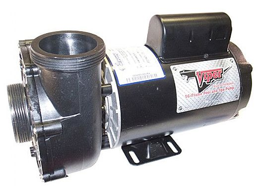 Waterway Viper Spa Pump | 2-Speed 5HP 230V 56-Frame | 3722021-1V