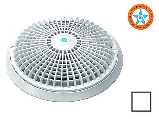 """AquaStar 10"""" Star Anti-Entrapment Suction Outlet Cover 