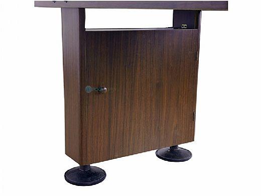 Hathaway Challenger 9-Foot Shuffleboard Table | Walnut Finish | NG1205 BG1205