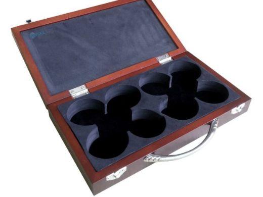 Hathaway Shuffleboard Pucks with Case | Set of 8 | NG1223 BG1223