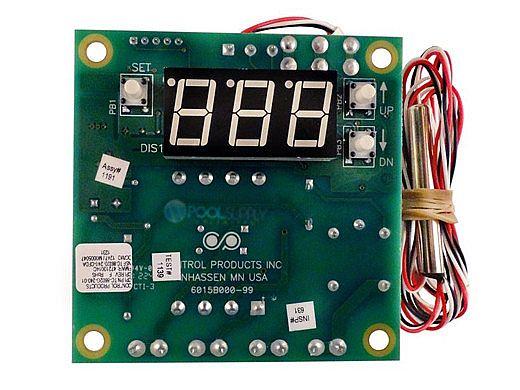 Coates Heater Digital Temperature Control Assembly | 22002150