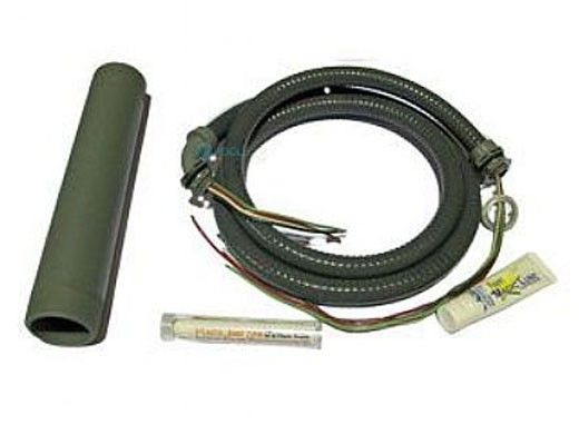 "Pump Installation Kit with 2"" Threaded Nipple, Conduit & Wire, Magic Lube, & Thread Sealant"