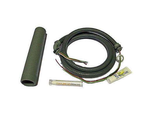 "Pump Installation Kit with 2"" Threaded Nipple, Conduit & Wire, Magic Lube, & Thread Sealant"