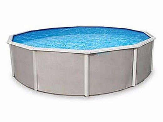"""Belize 15' Round Steel Wall Pool 48"""" Tall without Liner 