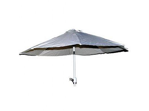 Lion Premium Grills 9' Umbrella with Aluminum Pole White | L1647