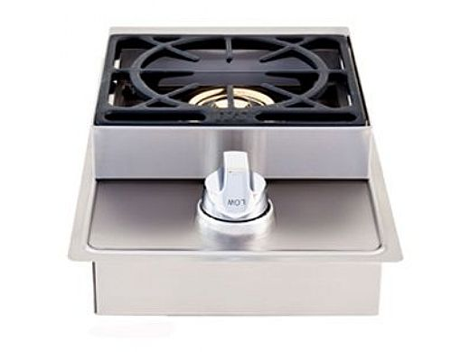 Lion Premium Grills Stainless Steel Single Side Burner Natural Gas | L5631