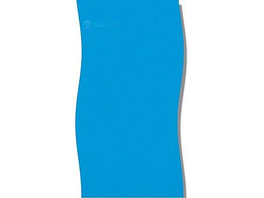 Solid Blue 8'X12' Oval Standard Gauge Overlap Style Liner NL211-20 | LI081220