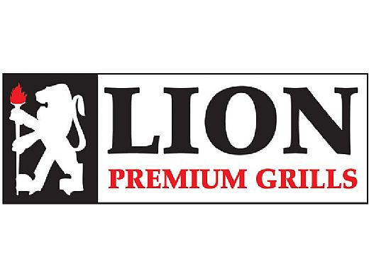 Lion Premium Grills Stainless Steel Horizontal Door with Towel Rack | L2219