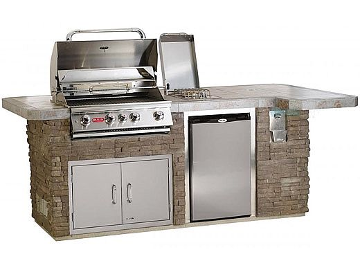 Bull Outdoor Products BBQ Island in Stucco | 31014