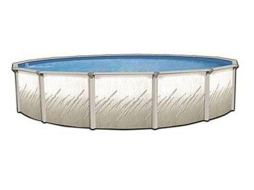 "Pretium 15' Round 52"" Steel Wall Pool Assy Only w/ Skimmer & Return| Pool Only | PPREGLXDUN-1552SSSTSSFB0-WS"