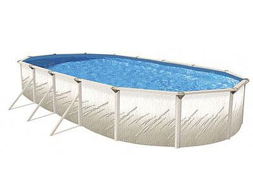 "Pretium 12'X24' Oval 52"" Steel Wall Pool Assy Only w/ Skimmer & Return | Pool Only | PPREGLXDUN-CH122452SSSTSSFB0-WS"