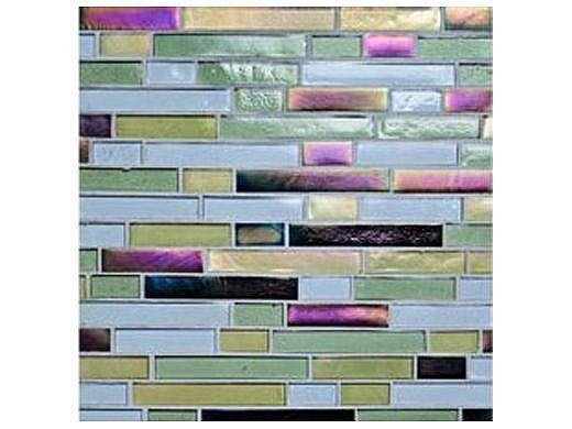 National Pool Tile Oceanscapes 12x12 Interlocking Glass | Pipeline | OCN-PIPELINE IS12