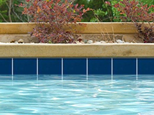 National Pool Tile 6x6 Solids Series | Glossy Navy | M6766PG