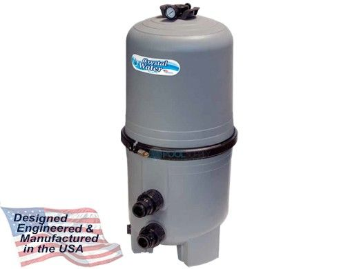 Waterway Crystal Water Cartridge Filter   525 Sq. Ft. 150 GPM   570-0525-07
