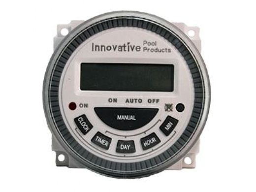 Innovative Pool Products Programmable Electronic LCD Time Clock | Replaces ET-2 | ET-3 FM1D14-AV-U