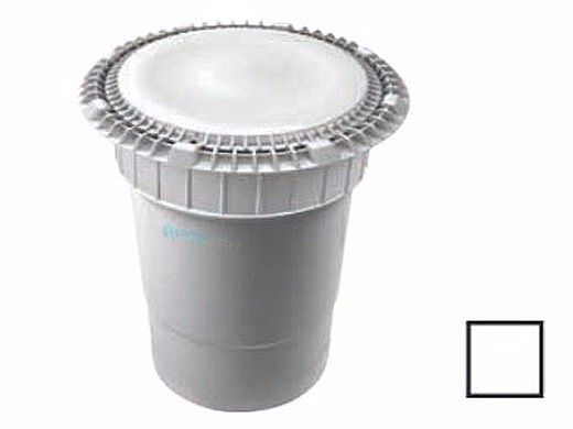 """AquaStar 8"""" Round Low Profile Suction Outlet Cover with Double Deep Sump Bucket with 6"""" Socket 