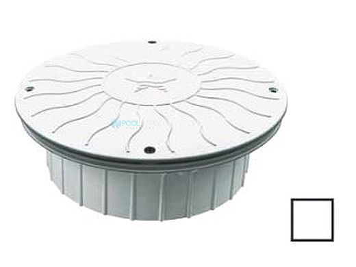 """AquaStar 10"""" Round Debris Catcher Suction Outlet Cover with Double Deep Mud Frame 