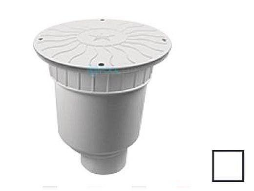 "AquaStar 10"" Suction Outlet Cover with 4"" Spigot | 10LT101C"