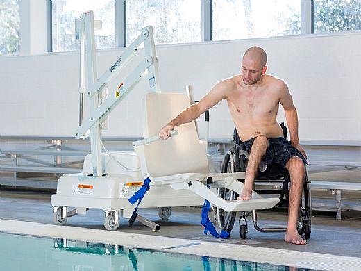 SR Smith PAL2 Portable Aquatic ADA Compliant Pool Lift | 202-0000